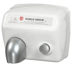 World Dryer Push Button Hand Dryer 115 Volt -  DA5-974AU