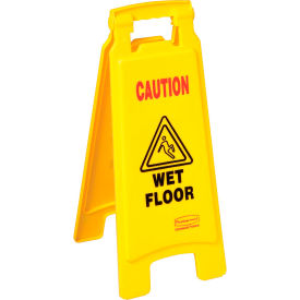 Rubbermaid® Floor Sign 2 Sided - Caution Wet Floor