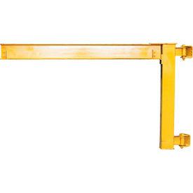 Abell-Howe® Under-Braced Wall Mounted Jib Crane 960010 1000 Lb. Capacity