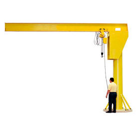 Abell-Howe® Heavy Duty Floor Crane 4B0741 4000 Lb. Capacity