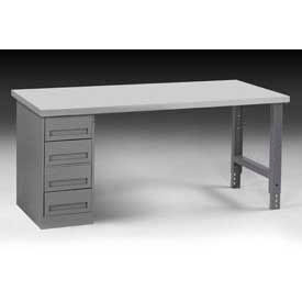 60 X 30 Workbench W/4-Drawers