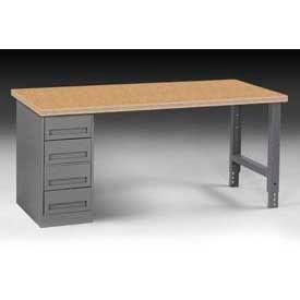 72 X 30 Workbench W/4-Drawers