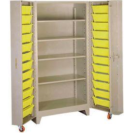 "Lyon Storage Cabinet With Tilt Bins PP1125 - 38""W"