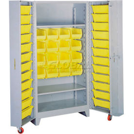 "Lyon Storage Cabinet With Tilt Bins DD1126 - 38""W"