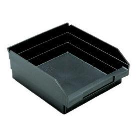 """Recycled Shelf Bin QSB109BR Nestable, 11-1/8""""W x 11-5/8""""D x 4""""H - Pkg Qty 8"""