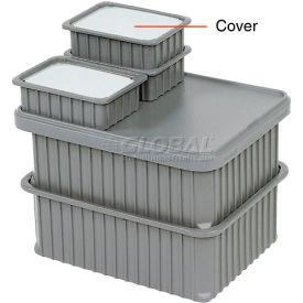 "Dandux Insert Cover 50B0112LI for Dividable Grid Stackable Box, 16""L x 11""W, Clear"