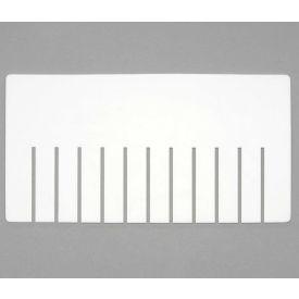 Dandux Width Divider 50P0018083 for Dividable Stackable Box 50P0114090, 50P0114100, 50P0114110,White