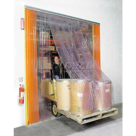Scratch Resistant Strip Door Curtain 8'W x 8'H