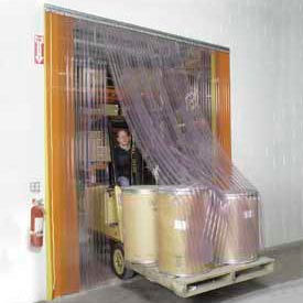 Scratch Resistant Strip Door Curtain 14'W x 10'H