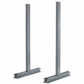 "Cantilever Rack Double Sided Upright, 54"" D x 10' H, 14200 Lbs Capacity"