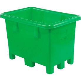 "Dandux Pallet Container 51-2026E - 43""L x 28""W x 29""H Single Wall, Green"
