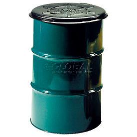 CDF Drumsaver™ Lid Drum Cover PLTH55 for Closed Head Drums - Black - Pkg Qty 25