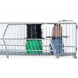 """Stackable Wire Storage Bin, 48""""W x 20""""D x 12""""H"""