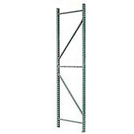 Husky Rack & Wire IU18480144 Pallet Rack Tear Drop Upright Frame - 144x48