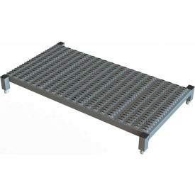 """48 X 24 Inch Adjustable Height Steel Work Platform - 5""""H To 8""""H"""