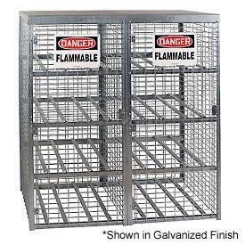 Cylinder Storage Manual Single Door Horizontal Cabinet
