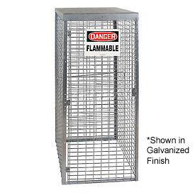 Cylinder Storage Manual 1 Door Vertical Cabinet