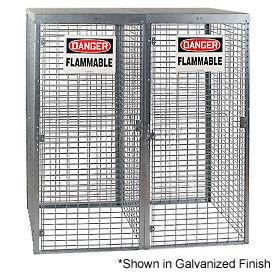 Cylinder Storage Manual 2 Door Vertical Cabinet