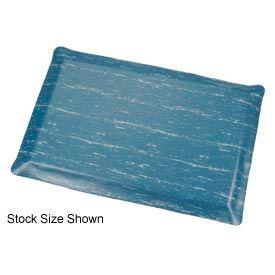 Marbleized Top Ergonomic Mat 2x60 Foot Blue