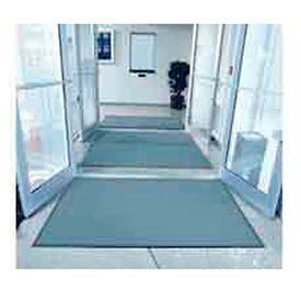 "Entryway Mat Inside Final Drying 48"" W Full 60' Roll Gray"