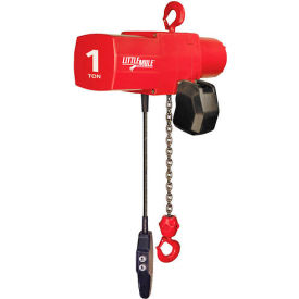 Coffing Little Mule Electric Chain Hoist with Chain Container 4000 lb. Capacity by