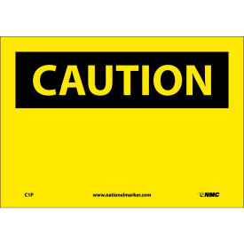 "Safety Signs - Caution Blank - Vinyl 7""H X 10""W"