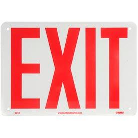 Glo-Brite Exit Sign - Rigid Plastic