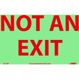 Glo-Brite Not An Exit Sign - Vinyl