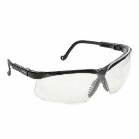 Genesis Spectacle Black Frame Clear Lens, Hard Coat, S3200