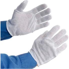 PIP 97-500H Light Weight Inspection Gloves, Hemmed, Cotton, Men's, 1-Dozen