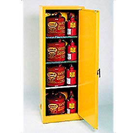 Eagle Flammable Cabinet with Manual Close Single Door 24 Gallon