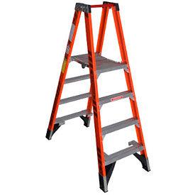 Werner 4' Dual Access Fiberglass Platform Ladder - PT7404