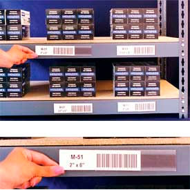 "Adhesive Label Holders 6""W X .75""H (12 pcs/pkg)"