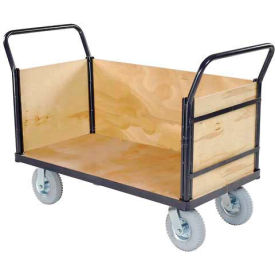 Euro Truck With 3 Wood Sides & Deck 60 X 30 1200 Lb. Capacity