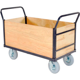 Euro Truck With 4 Wood Sides & Deck 48 x 24 1200 Lb. Capacity