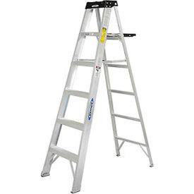 Werner 6' Type 1A Aluminum Step Ladder - 376