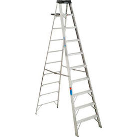 Werner 10' Type 1A Aluminum Step Ladder - 310