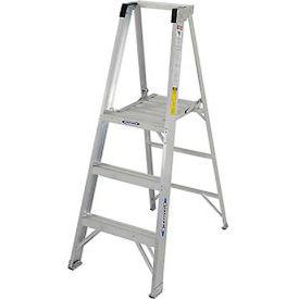 Werner 3' Type 1A Aluminum Platform Ladder - P373