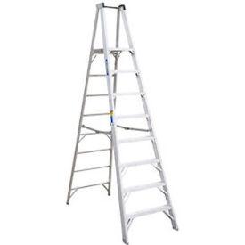 Werner 8' Type 1AA Aluminum Platform Ladder - P408