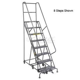 12 Step Steel Easy Turn Rolling Ladder - Standard Angle