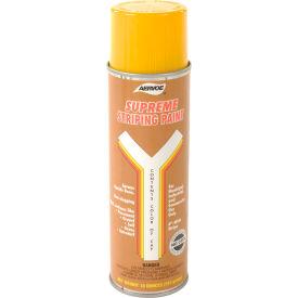 Yellow Striper Premium Spray Paint - Pkg Qty 12