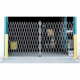 Dock Truck Equipment Gates Folding Security Double Folding