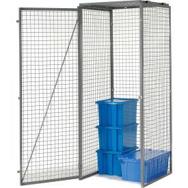 Bulk Storage Locker Single Tier 3' X 4' Starter With Roof