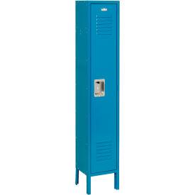 Infinity™ Locker Single Tier 12x12x60 1 Door Assembled Blue