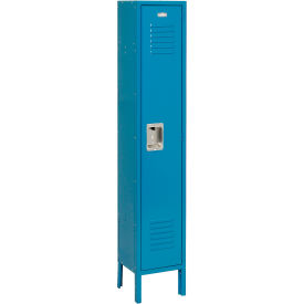 Infinity™ Locker Single Tier 12x18x72 1 Door Assembled Blue
