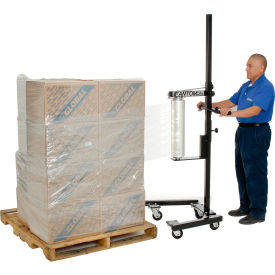 Stretch Wrap Machine Adjusts From 10 To 72 Inches Wide
