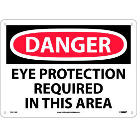 Safety Signs Danger Eye Protection Aluminum