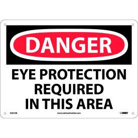 Safety Signs Danger Eye Protection Fiberglass