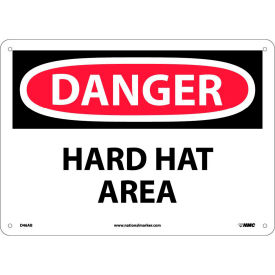 Safety Signs - Danger Hard Hat Area - Aluminum