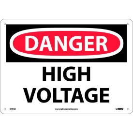 Safety Signs - Danger High Voltage - Aluminum